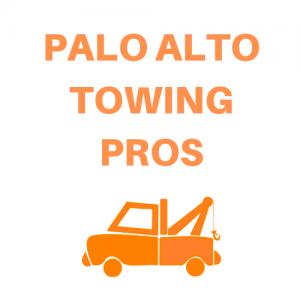 palo alto tow truck logo